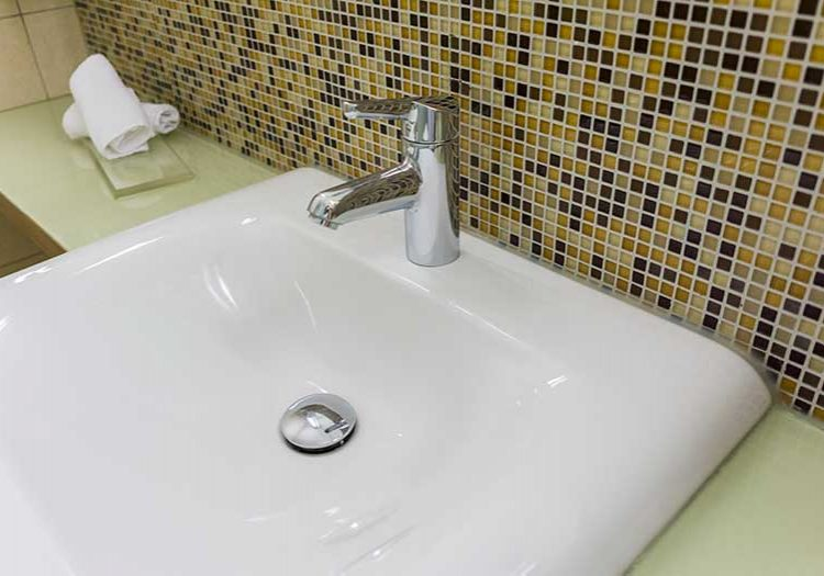 Bathroom plumbing installations